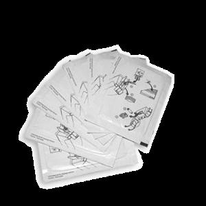 DATACARD TARJETAS DE LIMPIEZA Paquete de 10 Tarjetas Limpiadoras
