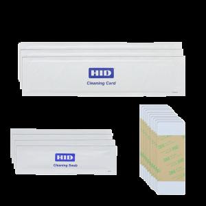 FARGO KIT DE LIMPIEZA kits de limpieza incluyen rodillos tarjetas de limpieza de tarjetas, plumas de limpieza del cabezal de impresión, almohadillas de limpieza para la limpieza general del interior de la impresora.