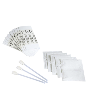 FARGO KIT DE LIMPIEZA PARA HDP5000, HDPi Kit de limpieza incluye 4 hisopos 10 toallas 10 tarjetas de limpieza 3 tarjetas con alcohol