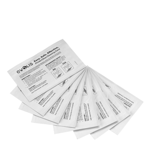 EVOLIS KIT DE LIMPIEZA PRINT CLEAN (50 Tarjetas humedecidas de alcohol isopropilico)