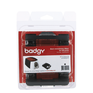 KIT BADGY RIBBON NEGRO 500 IMP