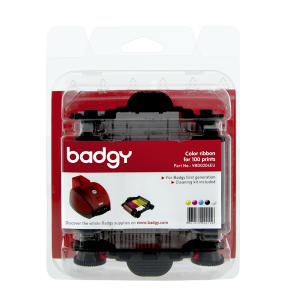 KIT BADGY RIBBON YMCKO + KIT DE LIMP