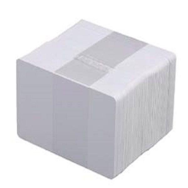 """Tarjeta PVC Blanco .030"""" con Pad de firma - IDMayorista - Venta de Impresoras de Credenciales en México"""