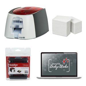 Go Pack Impresora Evolis Badgy 200 - IDMayorista
