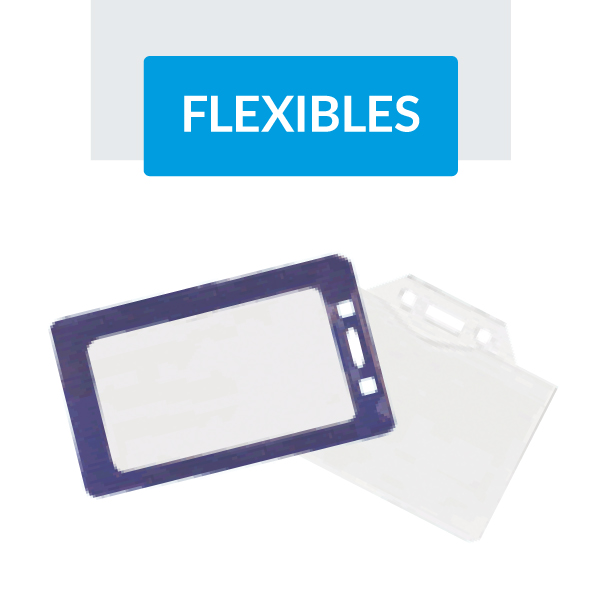 Portagafetes flexibles