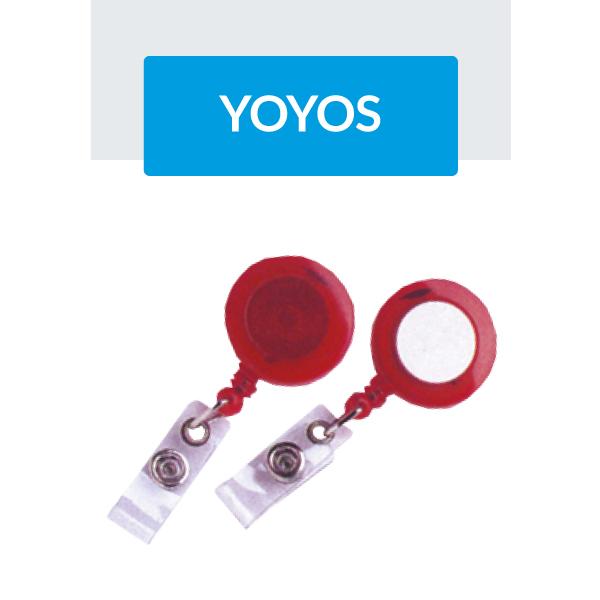 Portagafetes Yo-Yos